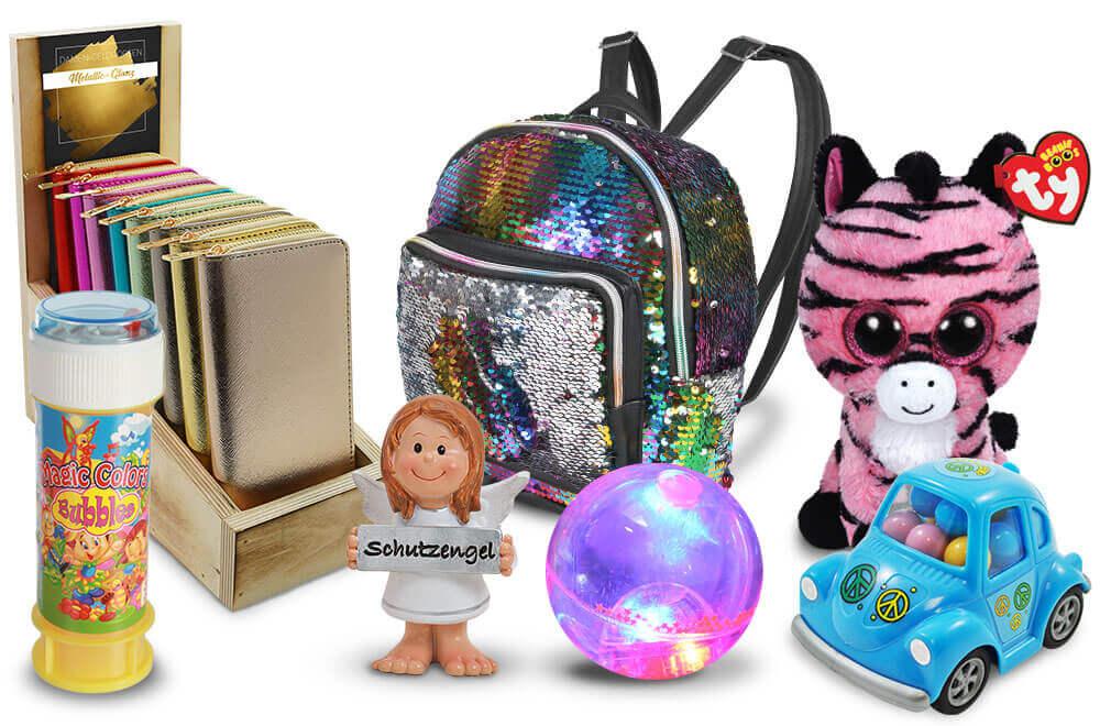 Impulsartikel: Lesebrillen, Kinderartikel, Trends, Geldbörsen, Lederwaren für Wiederverkäufer