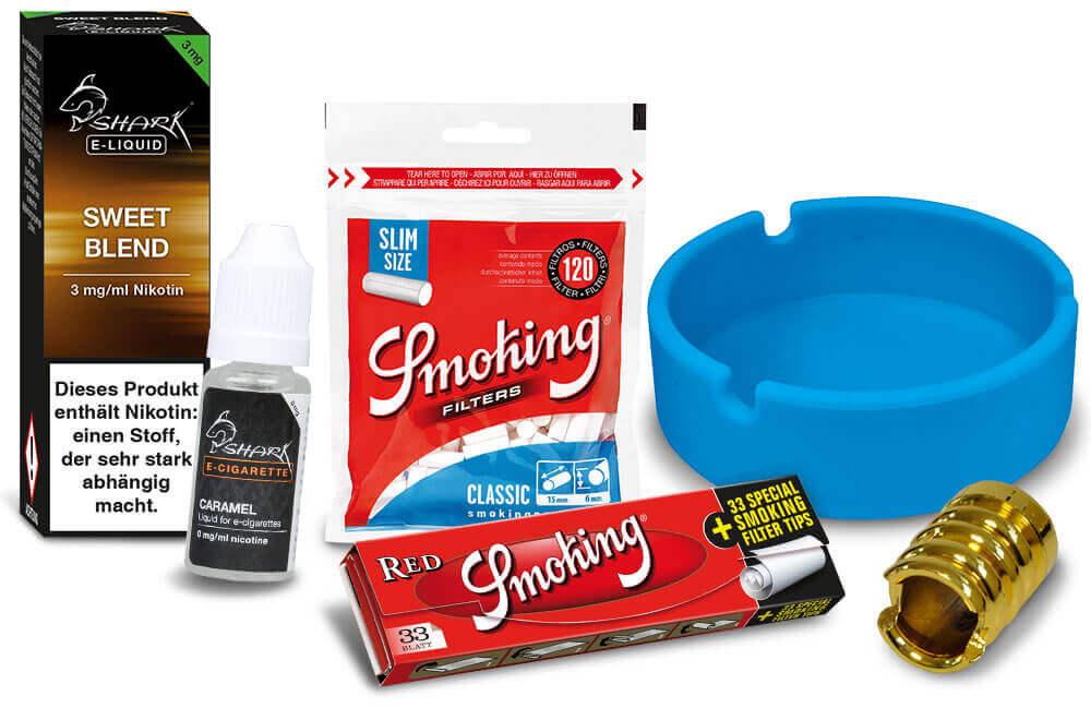 Raucherbedarf: Aschenbecher, Papers, Zigarettenboxen, Liquids, E-Zigaretten, Joyetech für Wiederverkäufer