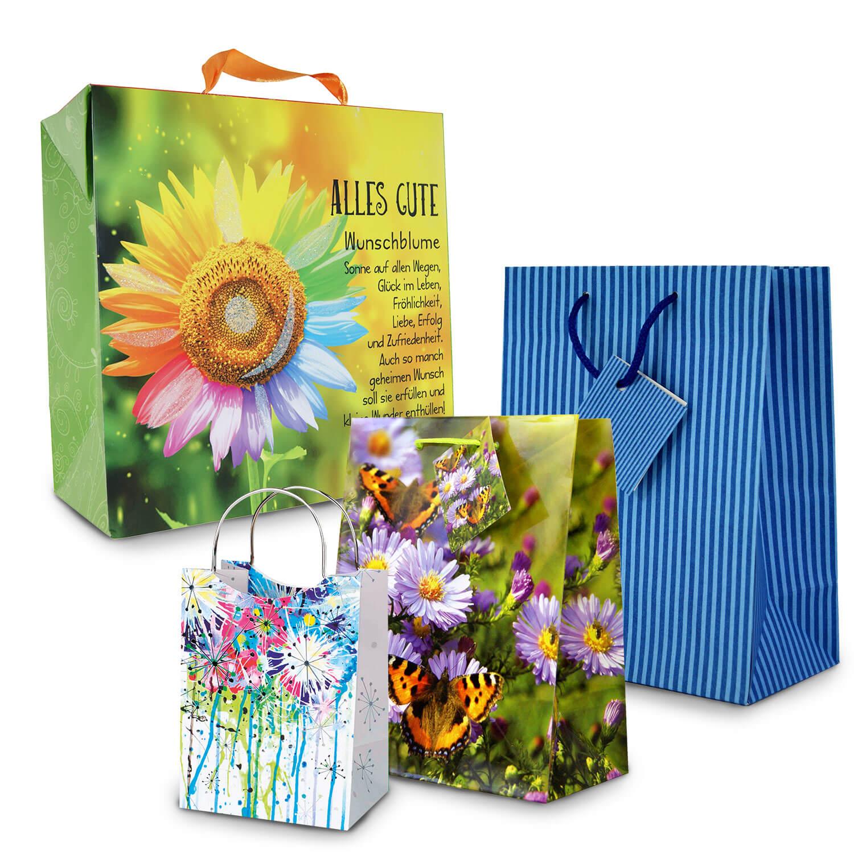 Geschenktaschen, Geschenktüten
